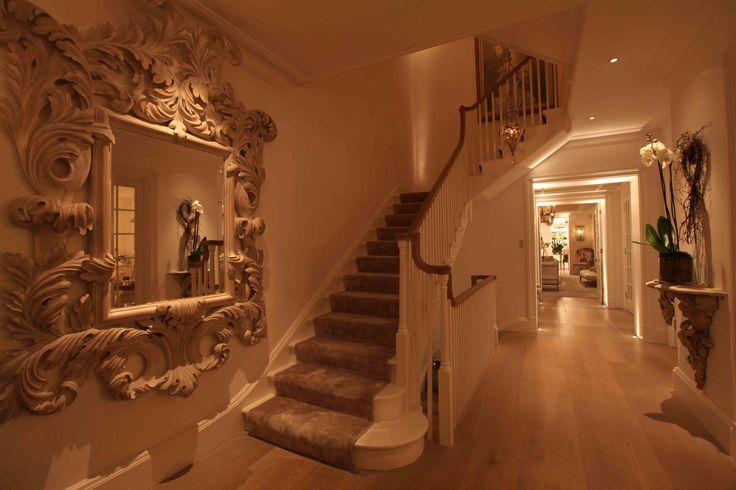 Lighting Basement Washroom Stairs: 118 Best Corridors & Stairs Lighting Images On Pinterest