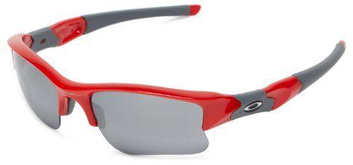 Oakley Flak Jacket XLJ Sunglasses Red Infrared W/Blkirid Size:One Size  Price…