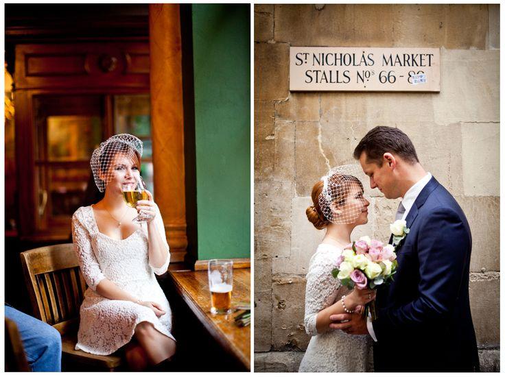 Frances Taylor Wedding Photographer St Nicholas Market Corn Street Bristol Registry Office
