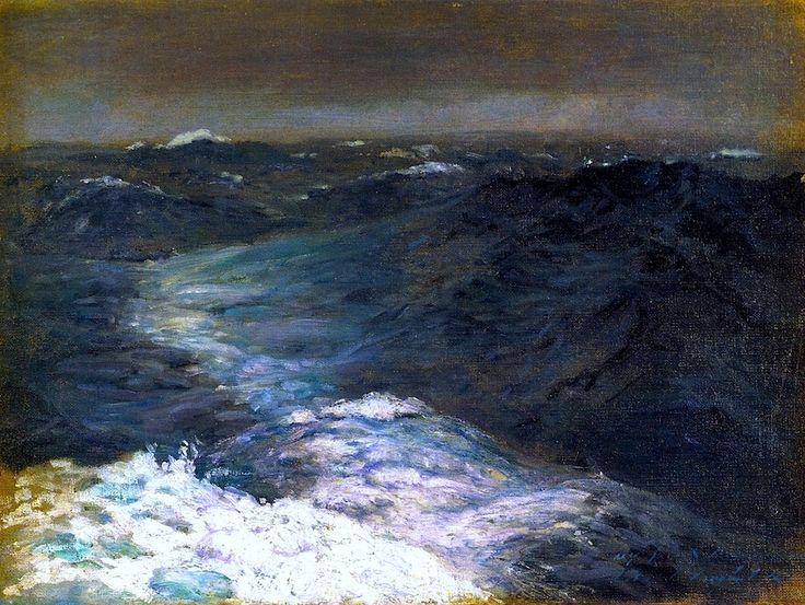 Mid Ocean in Winter - John Singer Sargent - 1876