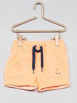 cc6af1a1ed5 Niño 0-36 meses - Pantalón corto de dos tejidos - Kiabi