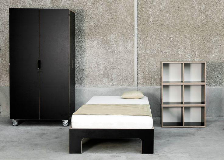 All the plywood pieces of the Room3 furniture collection match each other perfectly.