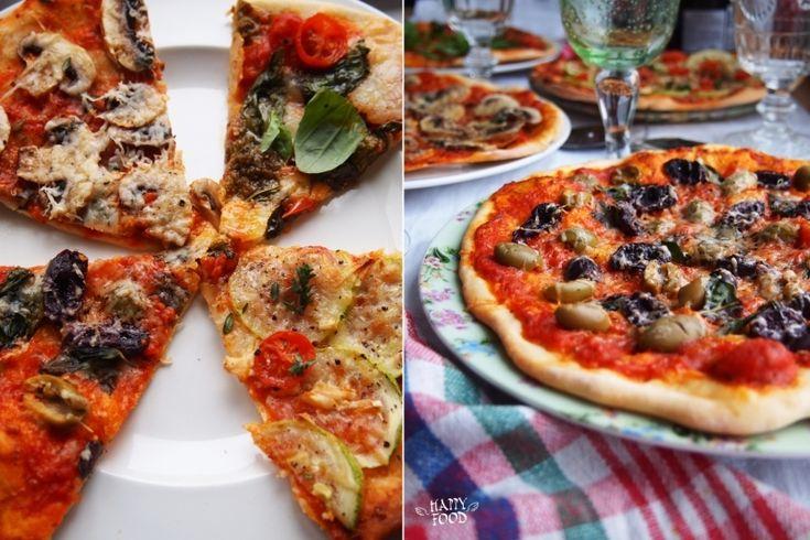 4 простых варианта пиццы (пошаговое приготовление теста)
