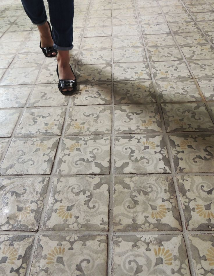 Lombardia 4 Flooring By Tabarka Studio  custom tile work..powder room or mbath floor idea