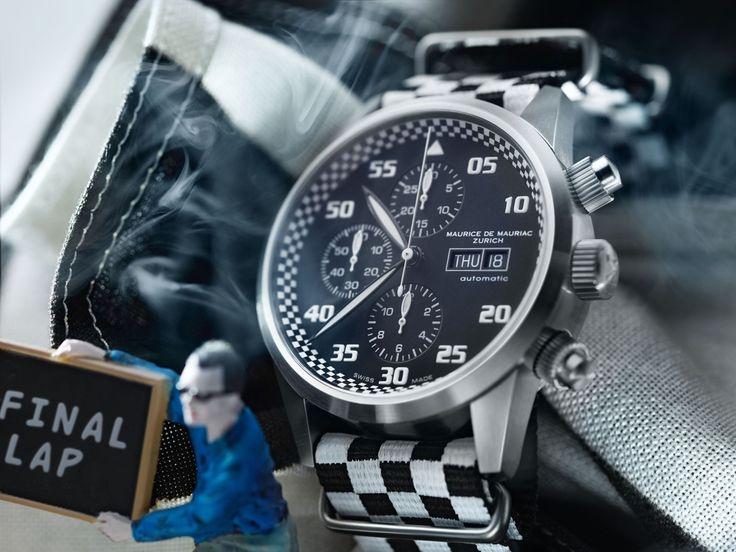 Swiss luxury in a watch, from Maurice de Mauriac. http://www.mauricedemauriac.ch/ Swiss watches for men.