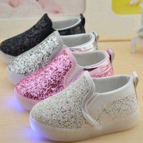 Zapatillas Con LED Barco