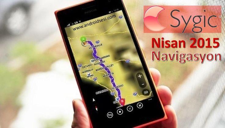 Sygic Navigasyon v.15.1.5 Nisan 2015 kurulumu (Full Türkçe)