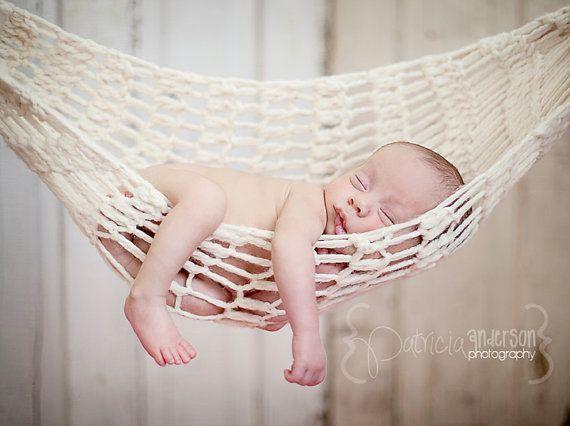 crochet baby hammock photo prop by aimeec87 on etsy  35 00 14 best baby hammock images on pinterest   infant photos newborn      rh   pinterest