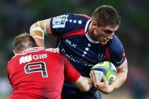 The Melbourne Rebels fell to their second successive loss as the Crusaders flexed their Super Rugby muscle with a 25-19 win at AAMI Park on Friday night.