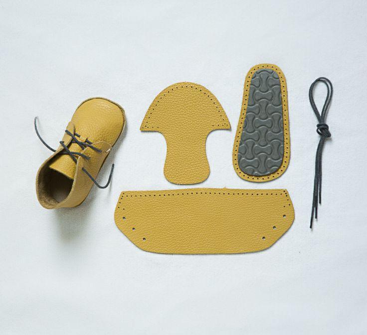 Baby First Shoes - Giallo, € 23.0 by Mirtilla (tutti i colori  1)