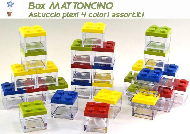 Mattoncini Lego portaconfetti