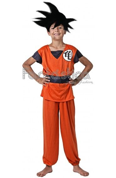 Disfraz para Niño Goku Dragon Ball II. Disfraces de Carnaval para Niño.