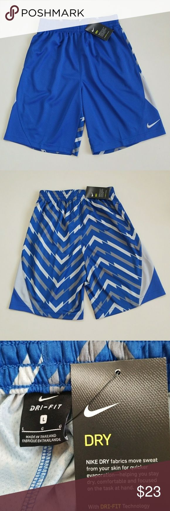 "NWT Boy Nike Shorts New Nike boy's super cool workout shorts. 19"" top to bottom. Nike Bottoms Shorts"