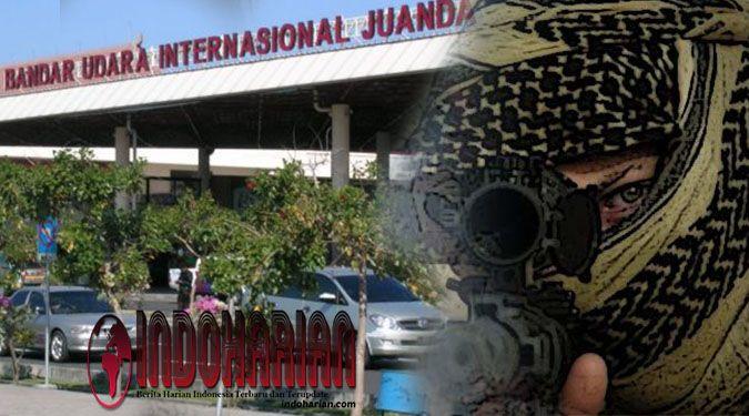 Densus 88  Berhasil Tangkap Teroris Jaringan ISIS di Bandara Juanda