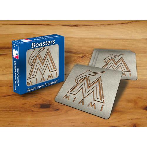 Miami Marlins Boaster® Coasters