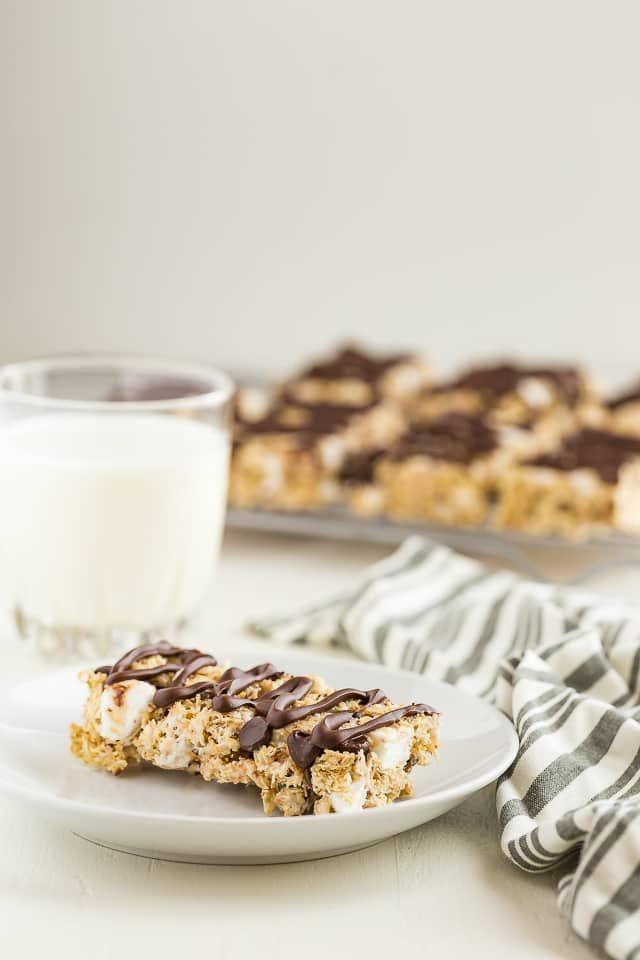 S'mores cereal bars made with Shredded Wheat #ad #BeyondCereal #CerealAnytime