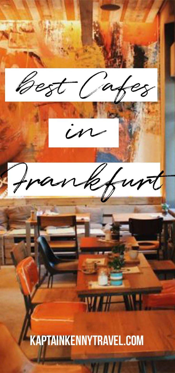 Frankfurt Germany | Germany Travel | Europe Travel | Vacation Ideas | Where to Go | Destinations | Coffee | Cafes |#coffee#germany#travel#kaptainkennytravel
