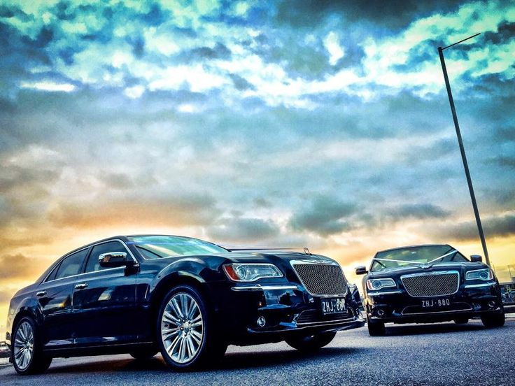 Gorgeous Chrysler 300C luxury sedans at the Docklands with @ICONPHOTOSMEL