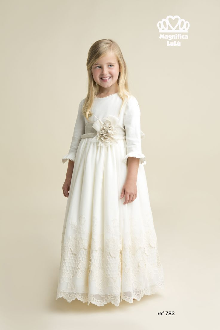Vestido romantico, todo un exito esta temporada de comuniones..  conoce más en www.magnificalulu.com
