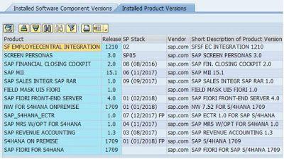 S4HANA 1709 FPS03 back on the Mothership again SAP HANA News
