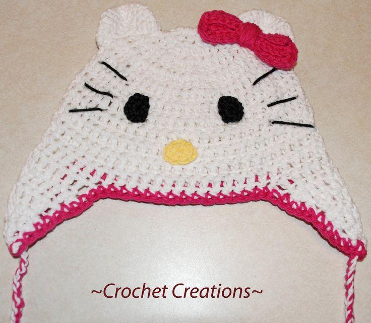 62 best GORROS BEBE images on Pinterest | Beanies, Crochet hats and ...