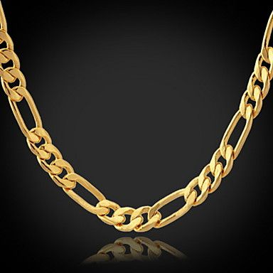 [XmasSale]18K Gold Filled Figaro Chain For Men 4Mm,22 Inches (55Cm)  – USD $ 6.99 http://www.miniinthebox.com/18k-gold-filled-figaro-chain-for-men-4mm-22-inches-55cm_p779410.html?utm_medium=personal_affiliate&litb_from=personal_affiliate&aff_id=52433&utm_campaign=52433