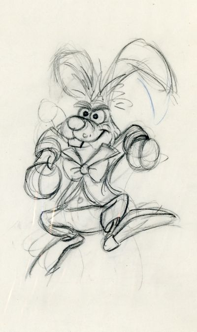 The March Hare Alice in Wonderland #Disney