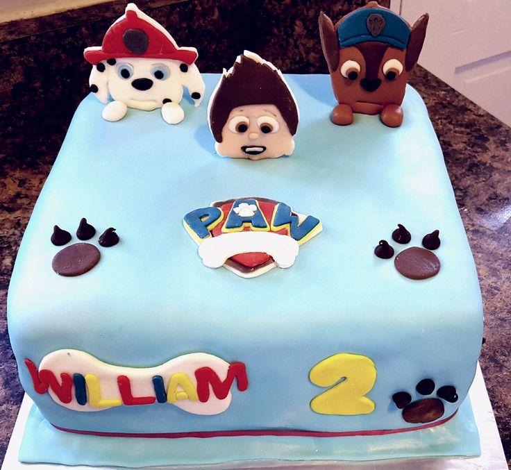 Wickedly Pink@ Facebook- Paw Patrol -Birthday Cake -Boy Cake