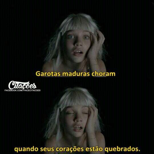 Trechos de músicas // Sia