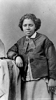 Edmonia Lewis (1843-1911) was born in upstate New York in 1843 to a Chippewa Indian mother and African American father. Edmonia surpassed exorbitant odds to become the first African American, and Native American, female sculptor -- and was the first such artist to celebrate her racial identity.