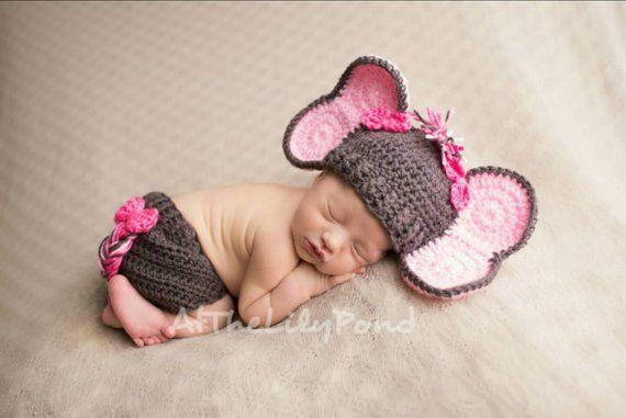 Baby shower Photography prop Oatmeal Cat Newborn Kitten Fluffy Bonnet hat