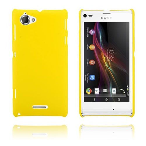 Hard Case (Gul) Sony Xperia L Case
