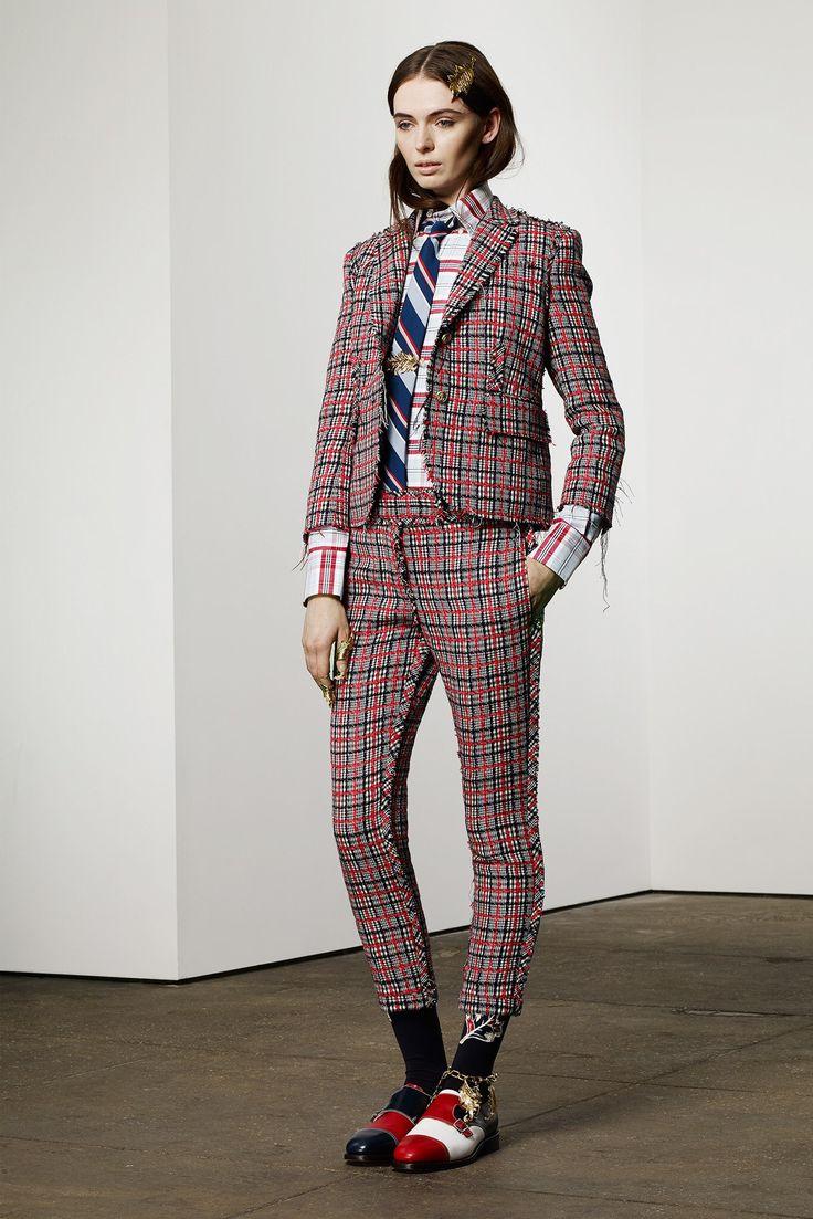 Thom browne pre fall 2014 fashion show Good style fashion show cleveland 2014