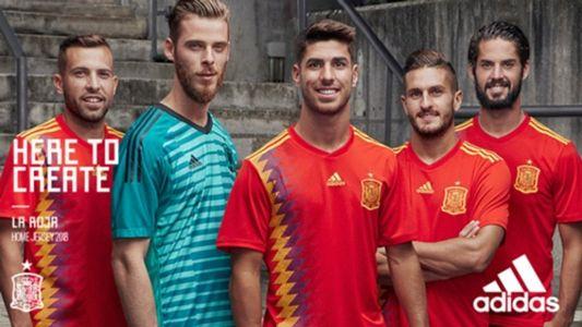 La nueva camiseta de la Selección española para el Mundial - Goal.com