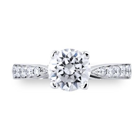 DANITA Diamond Engagement Ring Priced from $2500 http://diamondgalleria.com.au