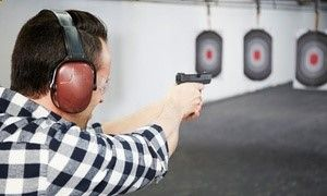 Groupon - Intro to Firearms Package for Two at San Diego Firearms Training Center ($ 190 Value) in Poway. Groupon deal price: $88