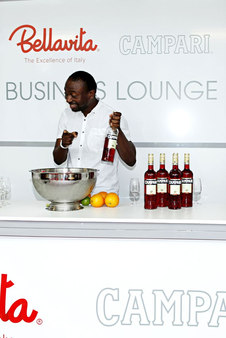 Business Lounge- Campari - Bellavita EXPO 2014