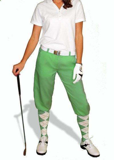 Golf Knickers - golf apparel for women www.pinksandgreen...