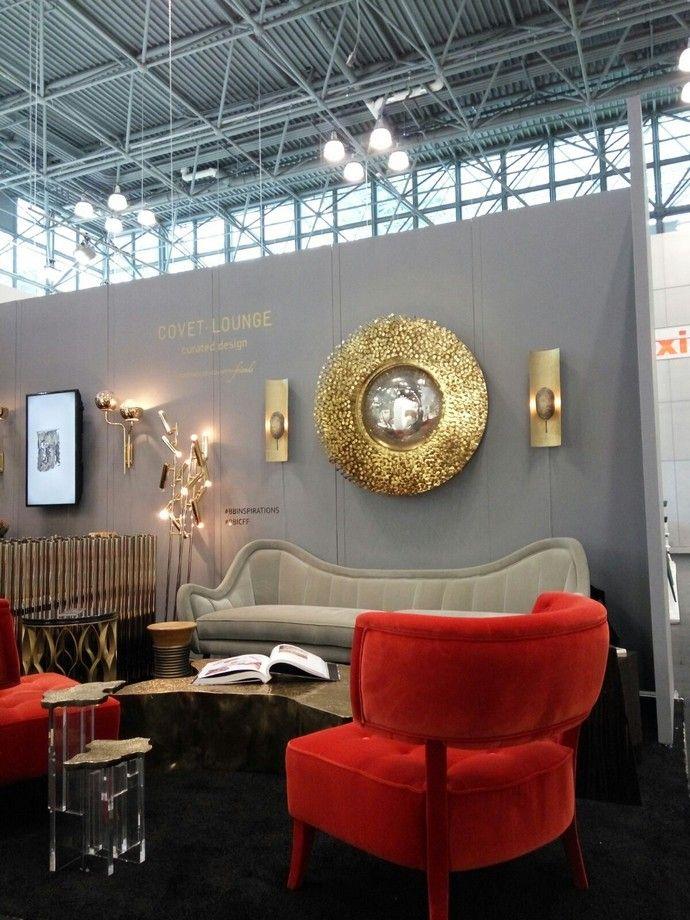 Covet House Stand At ICFF NYC Contemporary Modern Luxury Furniture Trade Fair
