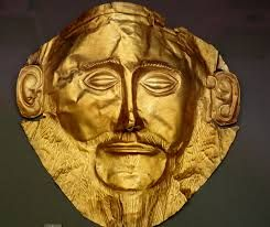 Mask of Agamemnon from Mycenae!