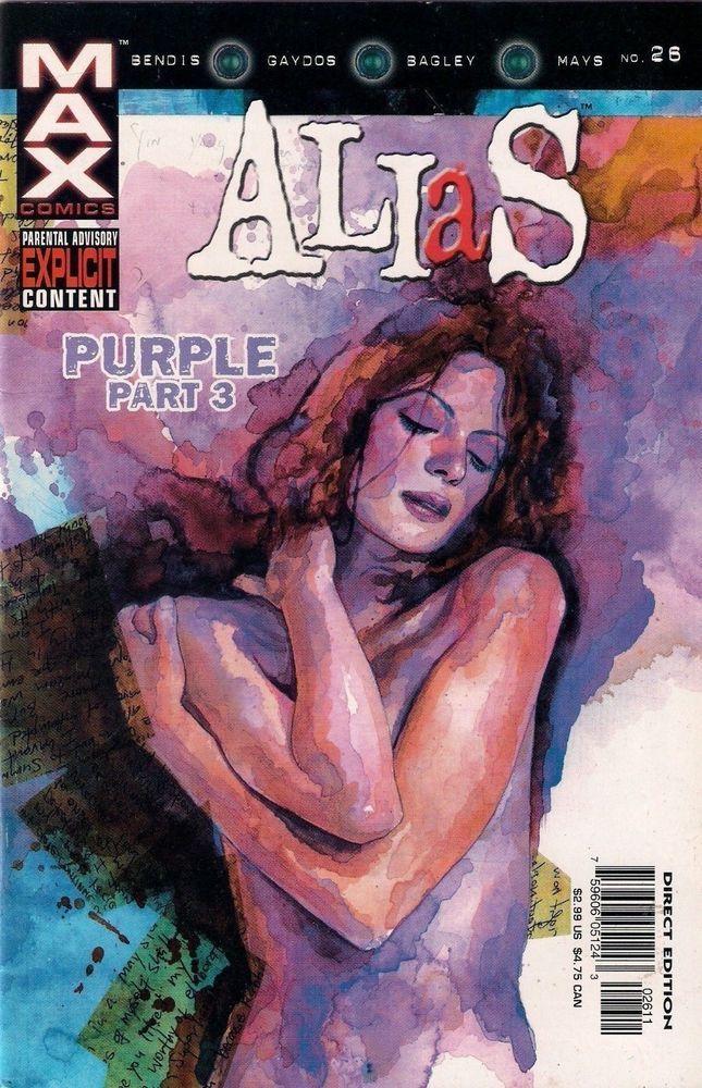 ALIAS # 26<>MARVEL COMICS<>2003<>BRIAN MICHAEL BENDIS/MICHAEL GAYDOS<>vf(8.0) ~