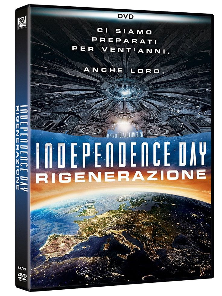Independence Day - Rigenerazione (DVD): Amazon.it: Liam Hemsworth, Jeff Goldblum, Bill Pullman: Film e TV