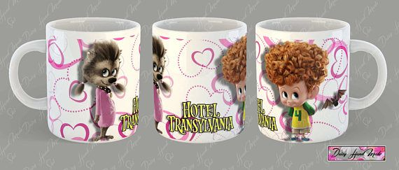 Hotel Transylvania 2 mugs Aangepaste mok gepersonaliseerde