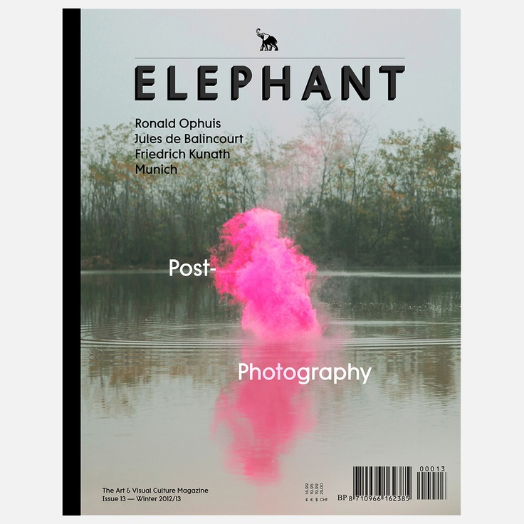 (the quarterly magazine that delves into modern art and visual culture. Featuring striking visual material, fresh faces, and original voices, this magazine covers and uncovers new trends and talent in contemporary visual culture.