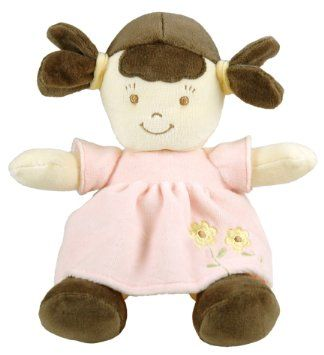 Amazon.com: Dandelion Organic Toddler Doll, Brunette: Baby