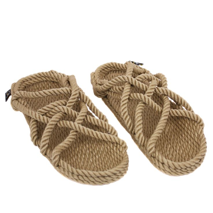 Fair Trade Rope Sandals for Men and Women from Come Together Trading Company.