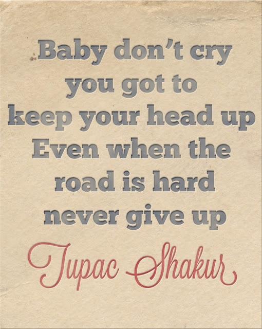 The Things We Would Blog: Monday Motivation: TUPAC SHAKUR