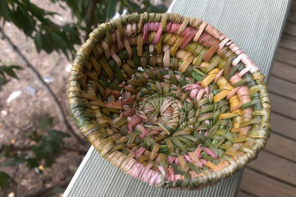 Técnicas de cestería natural