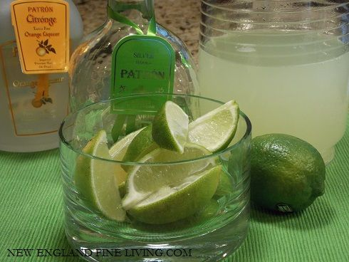 Patron Margarita Recipe For A Client's Tropical Theme Preppy Party.