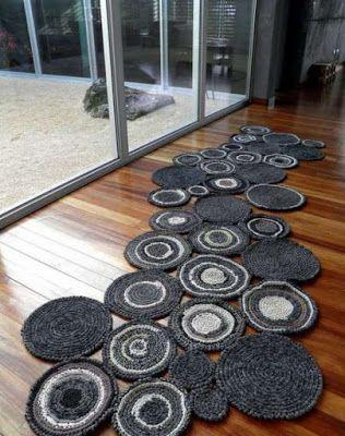 Crochet rug - step by step | Crochet Free